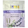 Aura Cacia, Aromatherapy Mineral Bath, Relaxing Lavender, 2.5 oz (70.9 g)