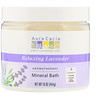 Aura Cacia, Aromatherapy Mineral Bath, Relaxing Lavender, 16 oz (454 g)