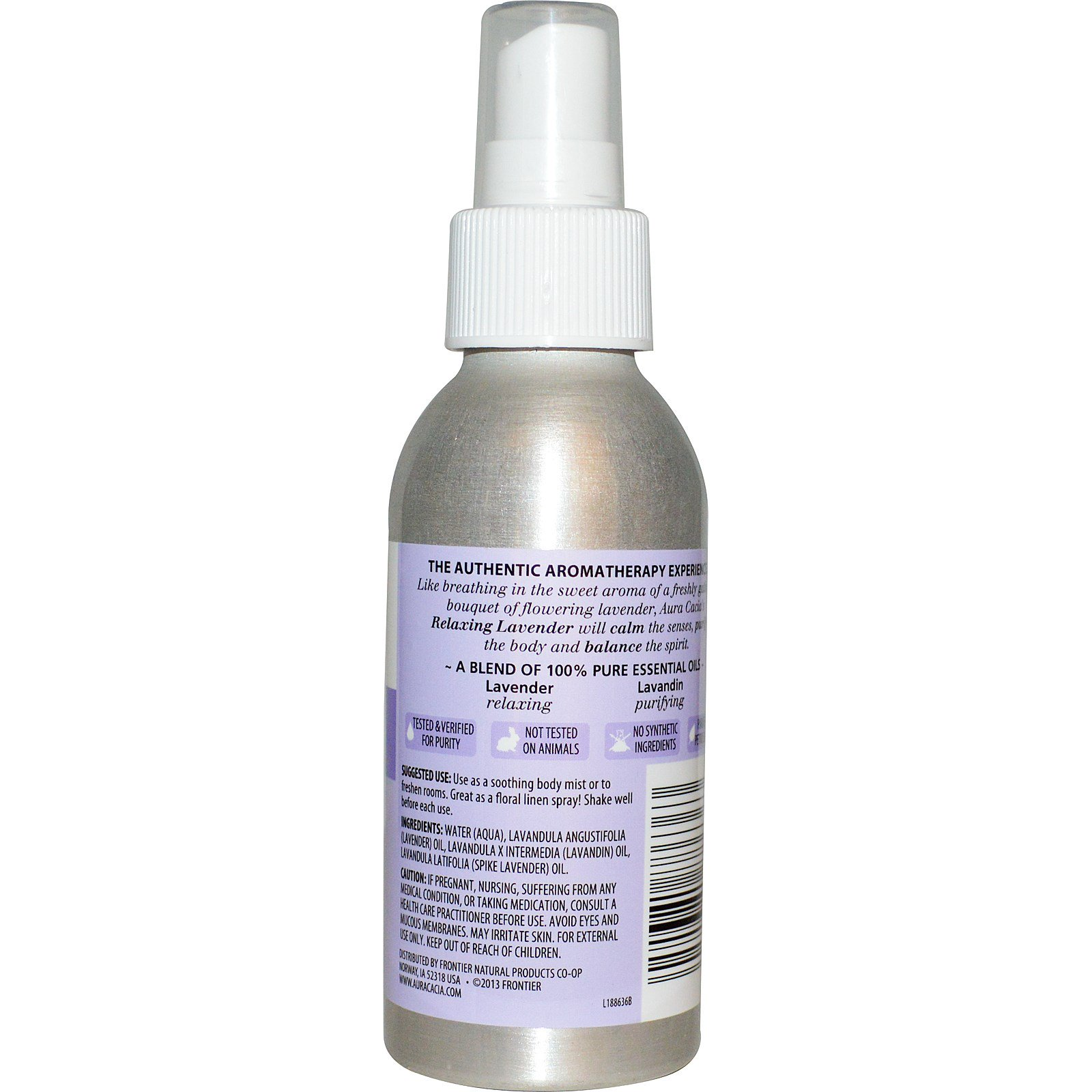 Relaxing Room Spray: Aura Cacia, Aromatherapy Room & Body Mist, Relaxing