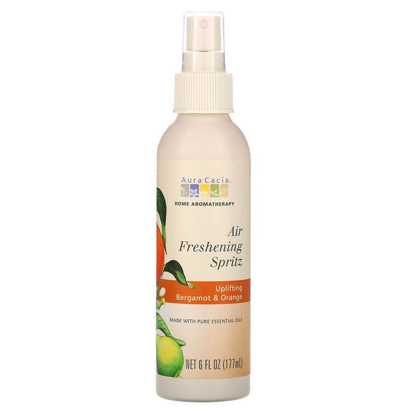Air Freshening Spritz, Uplifting Bergamot & Orange, 6 fl oz (177 ml)