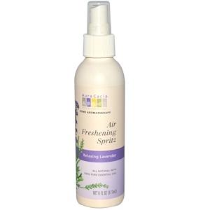 Аура Кация, Air Freshening Spritz, Relaxing Lavender, 6 fl oz (177 ml) отзывы