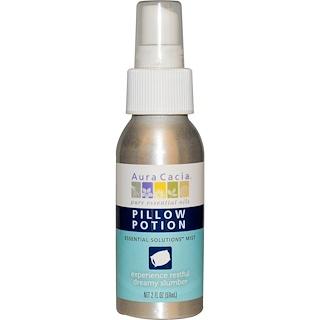 Aura Cacia, Pillow Potion, Essential Solutions Mist, 2 fl oz (59 ml)
