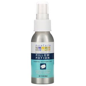 Аура Кация, Pillow Potion, Essential Solutions Mist, 2 fl oz (59 ml) отзывы