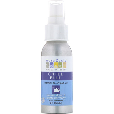 Chill Pill мист Essential Solutions, 2 жидких унции (59 мл)