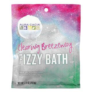 Aura Cacia, Fizzy Bath, Clearing Breezeway, 2.5 oz (70.9 g)