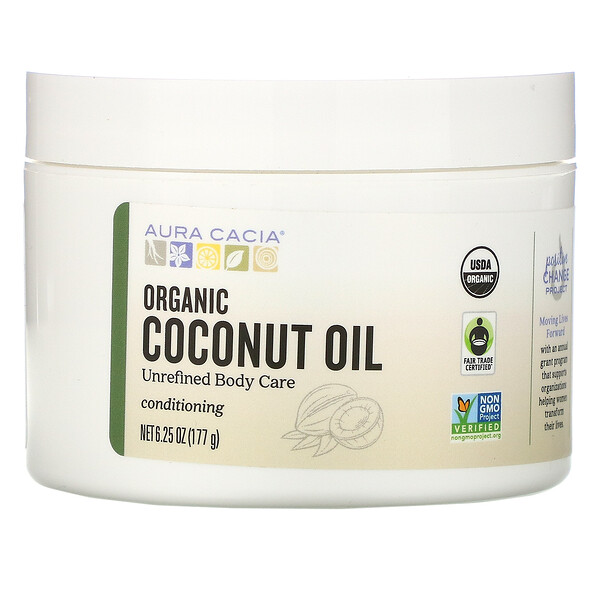 Conditioning Organic Skin Care, Coconut Oil, 6.25 oz (177 g)