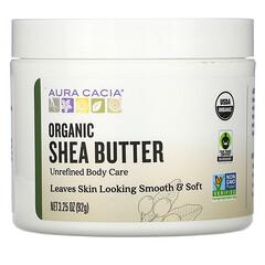 Aura Cacia, 有機乳木果油,3.25 盎司(92 克)