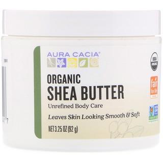 Aura Cacia, Organic Shea Butter, 3.25 oz (92 g)