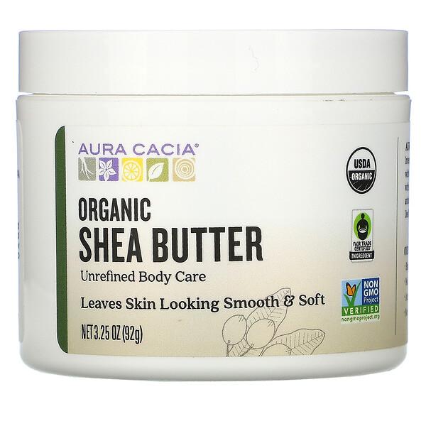 Organic Shea Butter, 3.25 oz (92 g)