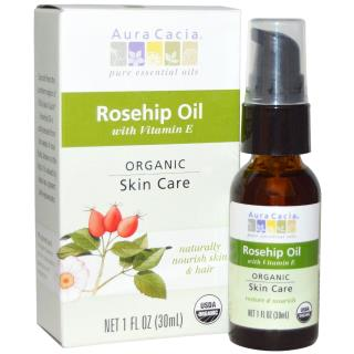 Aura Cacia, Organic, Rosehip Oil, Skin Care, 1 fl oz (30 ml)