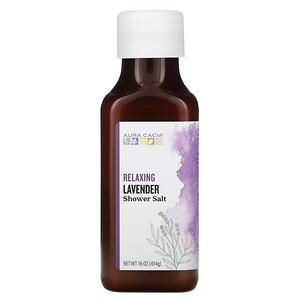 Аура Кация, Shower Salt, Relaxing Lavender, 16 oz (454 g) отзывы