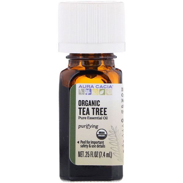 Organic Tea Tree, 0.25 fl oz (7.4 ml)