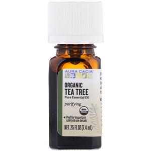 Аура Кация, Organic Tea Tree, 0.25 fl oz (7.4 ml) отзывы покупателей