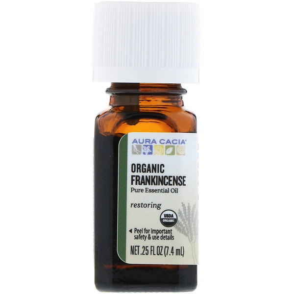 Organic Frankincense, .25 fl oz (7.4 ml)