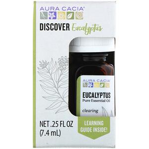 Аура Кация, Discover Eucalyptus, Pure Essential Oil, .25 fl oz (7.4 ml) отзывы