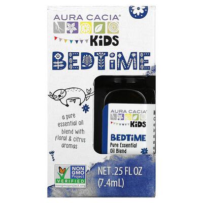 Aura Cacia Kids, Pure Essential Oil Blend, Bedtime, .25 fl oz (7.4 ml)