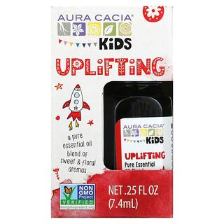 Aura Cacia, Kids, Pure Essential Oil Blend, Uplifting , 0.25 fl oz (7.4 ml)