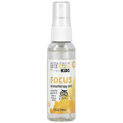 Aura Cacia Kids, Focus Aromatherapy Mist, 2 fl oz (59 ml)