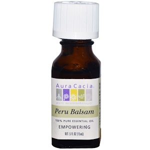 Аура Кация, 100% Pure Essential Oil, Peru Balsam, .5 fl oz (15 ml) отзывы