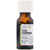 Aura Cacia, Pure Essential Oil, Texas Cedarwood, .5 fl oz (15 ml)
