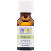 Aura Cacia, 100% Pure Essential Oil, Cypress, .5 fl oz (15 ml)