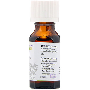 Аура Кация, Pure Essential Oil, Myrrh, .5 fl oz (15 ml) отзывы