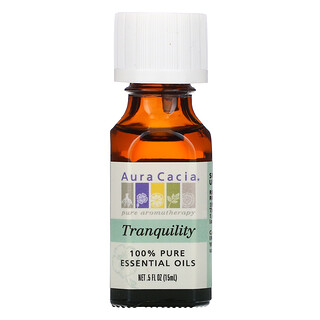 Aura Cacia, 100% чистое эфирное масло, успокаивающее, 15мл (0,5жидк.унции)