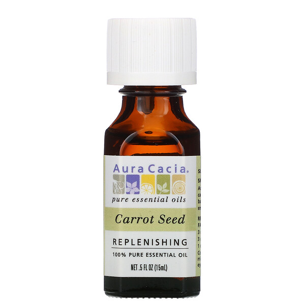 100% Pure Essential Oil, 100% reines ätherisches Öl, Karottensamen 15 ml (0,5 fl. oz.)