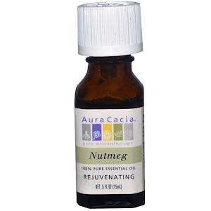 Аура Кация, 100% Pure Essential Oil, Nutmeg, .5 fl oz (15 ml) отзывы