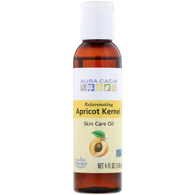 Skin Care Oil, Rejuvenating Apricot Kernel, 4 fl oz (118 ml)
