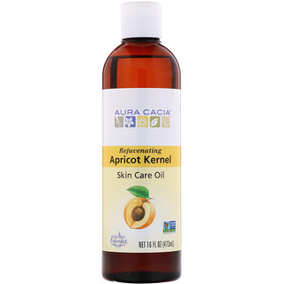 Aura Cacia, Skin Care Oil, Rejuvenating Apricot Kernel, 16 fl oz (473 ml)