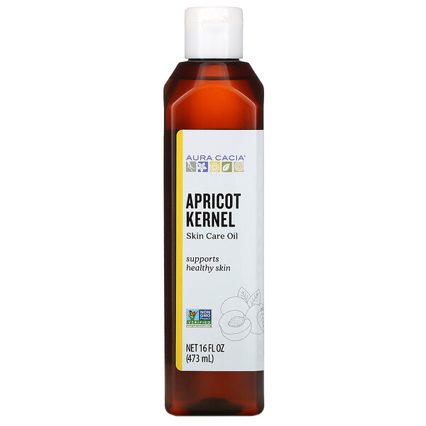 Skin Care Oil, Apricot Kernel, 16 fl oz (473 ml)