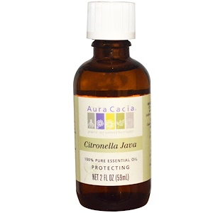 Аура Кация, 100% Pure Essential Oil, Citronella Java, 2 fl oz (59 ml) отзывы