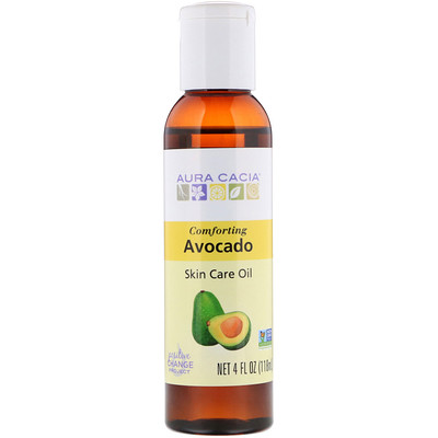 Skin Care Oil, Comforting Avocado, 4 fl oz (118 ml) emu oil body treatment 4 fl oz 120 ml