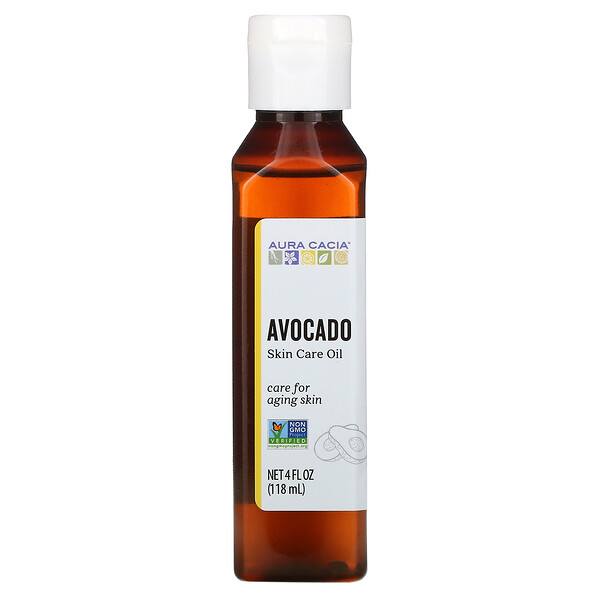 Aura Cacia, Skin Care Oil, Avocado, 4 fl oz (118 ml)