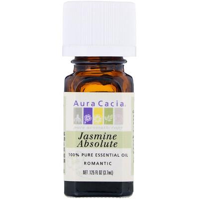 Купить Aura Cacia чистое эфирное масло, абсолю жасмина, 3, 7мл (0, 125жидк.унции)