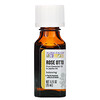 Aura Cacia, Pure Essential Oils, Rose Otto, .5 fl oz (15 ml)