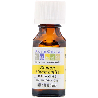 Aura Cacia, Roman Chamomile, Relaxing, .5 fl oz (15 ml)