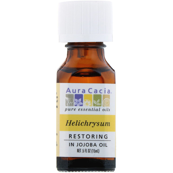 Pure Essential Oils, Helichrysum, Restoring, .5 fl oz (15 ml)