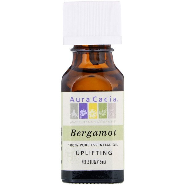 100% Pure Essential Oil, Bergamot, .5 fl oz (15 ml)
