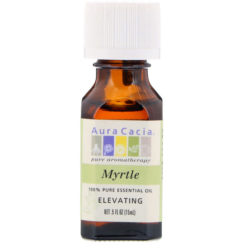 100% Pure Essential Oil, Myrtle, Elevating, .5 fl oz (15 ml)