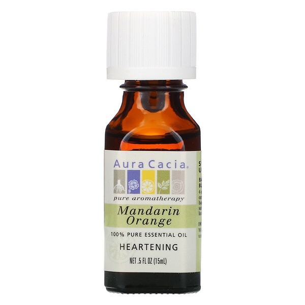 100% Pure Essential Oil, Mandarin Orange, .5 oz (15 ml)