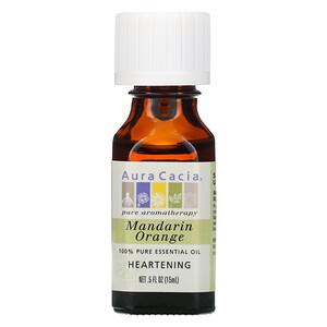 Аура Кация, 100% Pure Essential Oil, Mandarin Orange, .5 oz (15 ml) отзывы