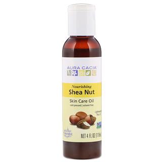 Aura Cacia, Skin Care Oil, Shea Nut, 4 fl oz (118 ml)
