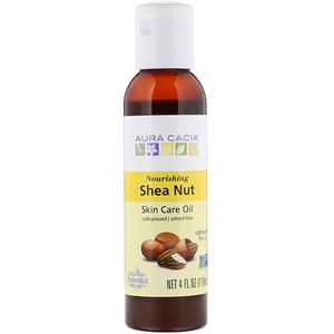 Аура Кация, Skin Care Oil, Nourishing Shea Nut, 4 fl oz (118 ml) отзывы