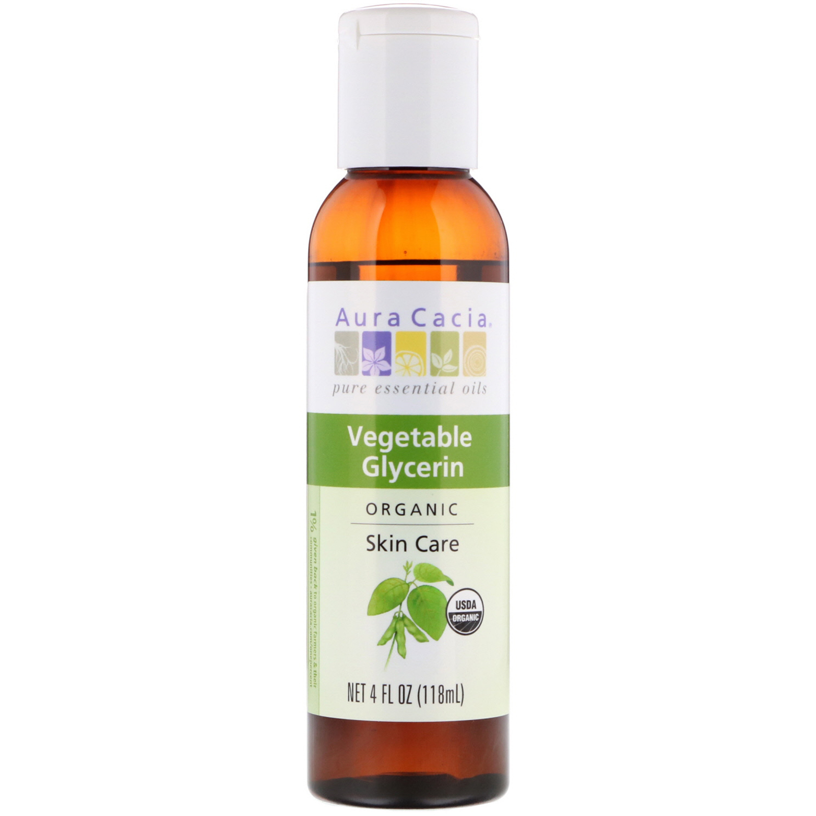 Organic Skin Care Oil Vegetable Glycerin 4 Oz Bath & Body