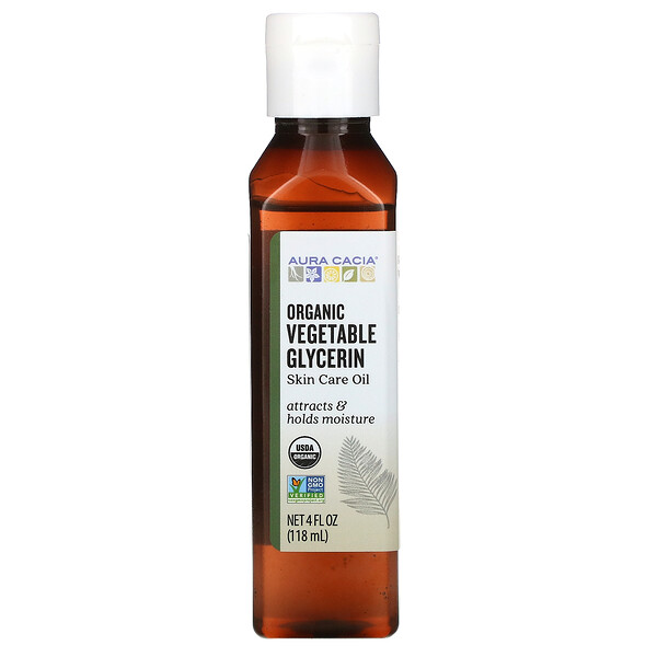 Skin Care Oil, Vegetable Glycerin, 4 fl oz (118 ml)
