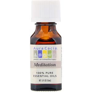 Аура Кация, 100% Pure Essential Oils, Meditation, 0.5 fl oz (15 ml) отзывы покупателей
