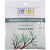 Aura Cacia, Aromatherapy Mineral Bath, Meditating Cedarwood, 2.5 oz (70.9 g)