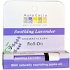 Aura Cacia, Aromatherapy Roll-On, Soothing Lavender, 0.31 fl oz (9.2 ml)